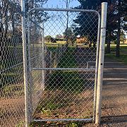 Pedestrian Chainwire Gates